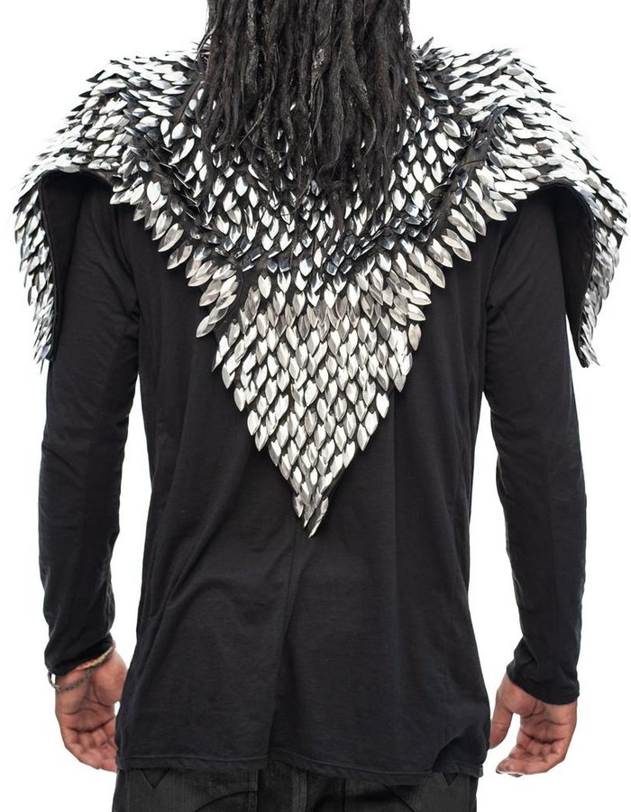 GELAREH DESIGNS KIWA GUARDIAN CAPE