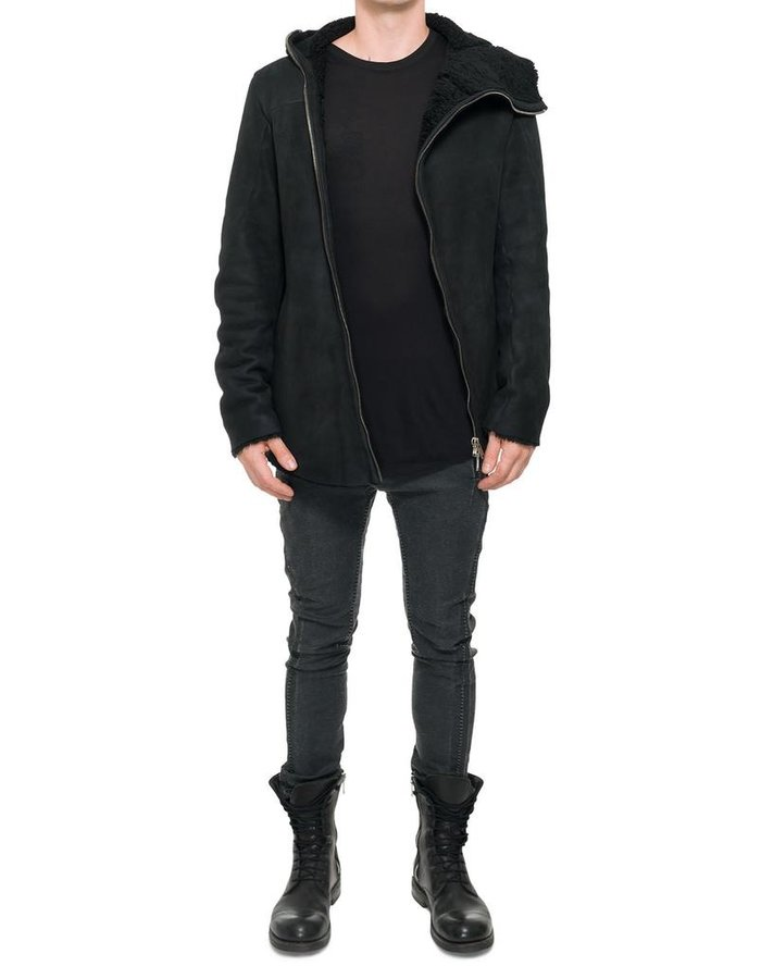 10SEI0OTTO HOODED WATERPROOF  SHEARLING JACKET