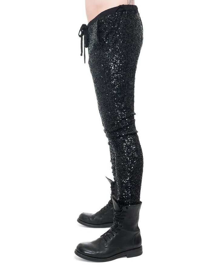 DAVID'S ROAD SEQUIN PANTS M