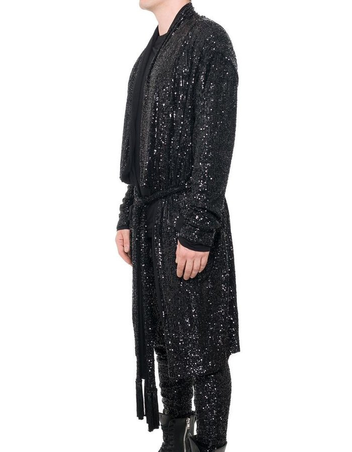 DAVID'S ROAD SEQUIN ROBE M