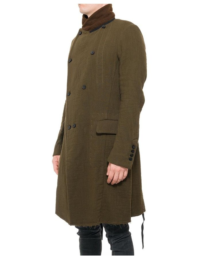 MASNADA WOOL COTTON GREAT COAT