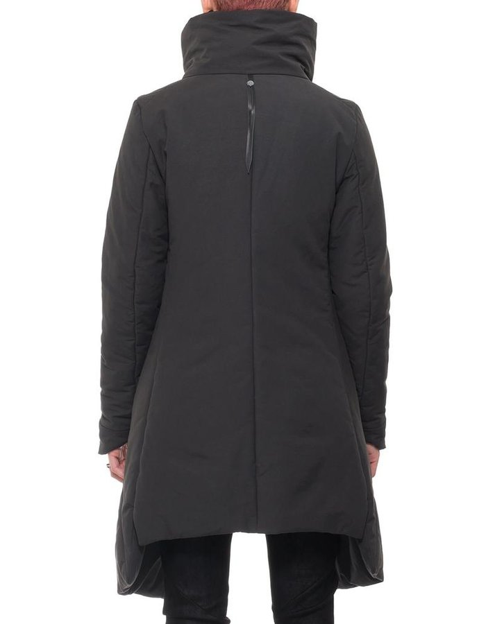 139DEC FUNNEL NECK LONG COAT