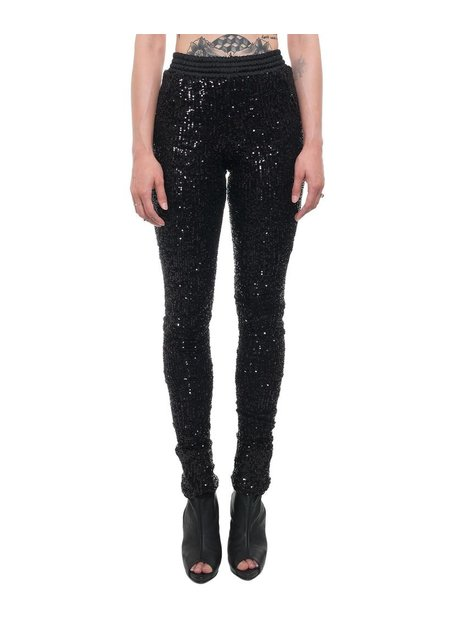 DAVID'S ROAD SEQUIN LEGGINGS W