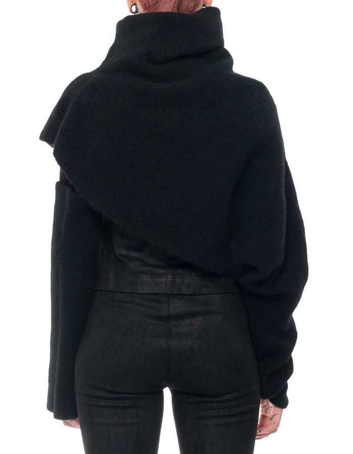 ISABEL BENENATO YAK TURTLENECK SLEEVE
