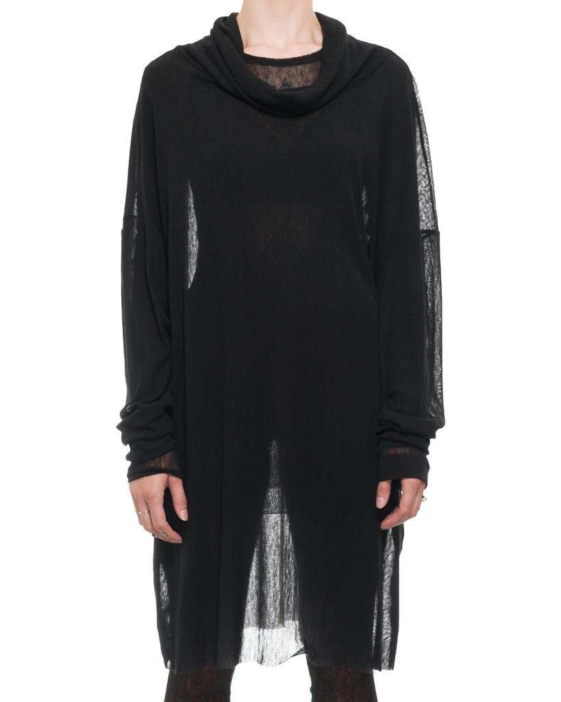 GALAXIA OVERSIZED MESH TURTLENECK