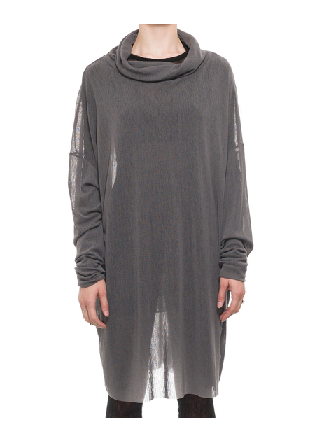STUDIO B3 GALAXIA OVERSIZED MESH TURTLENECK