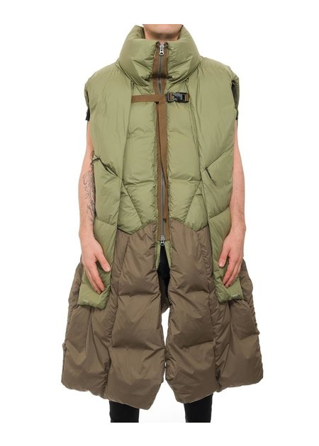 HAMCUS DASTRANAUT  OVERSIZE QUILTED VEST DOWN FILLED