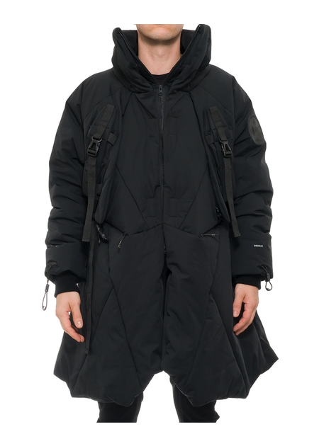 HAMCUS MANTA COAT WITH PMU ATTACHMENTS