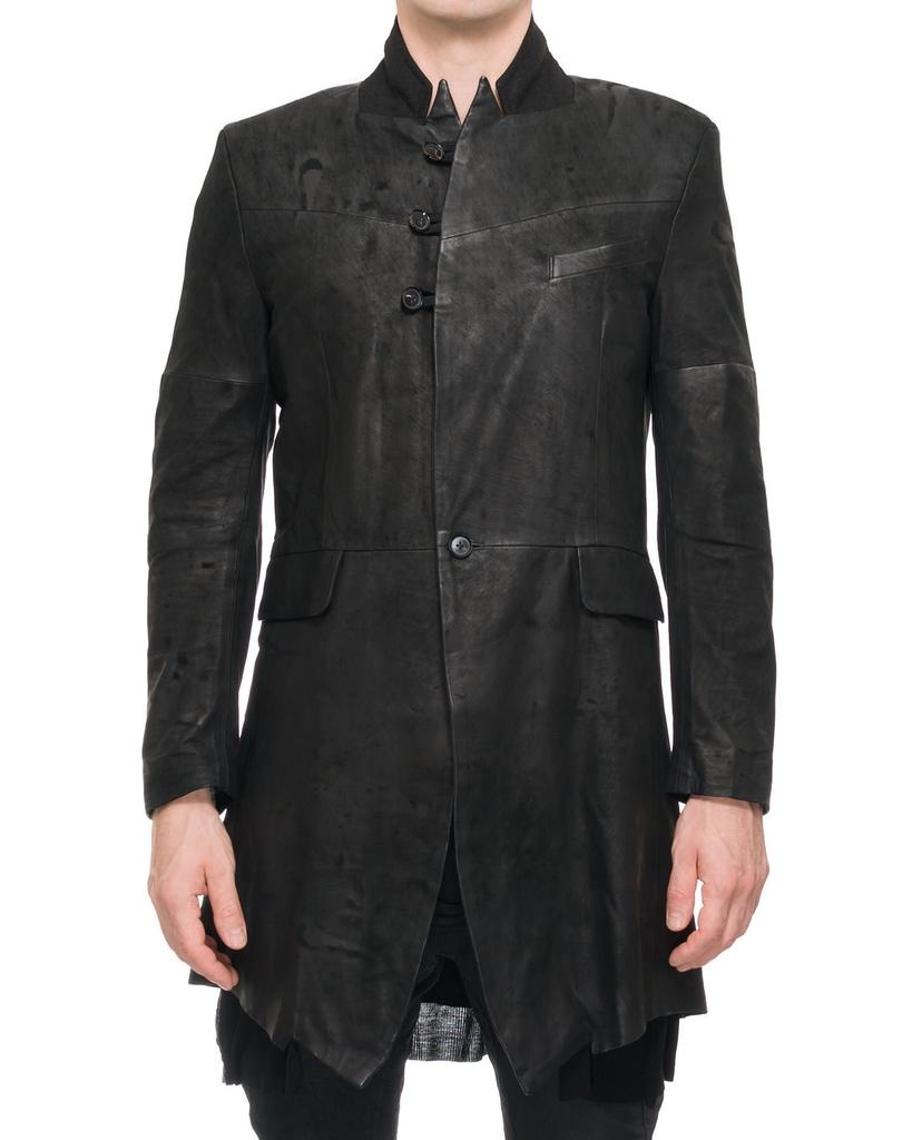 LONG LEATHER SPECIALIST BLAZER M