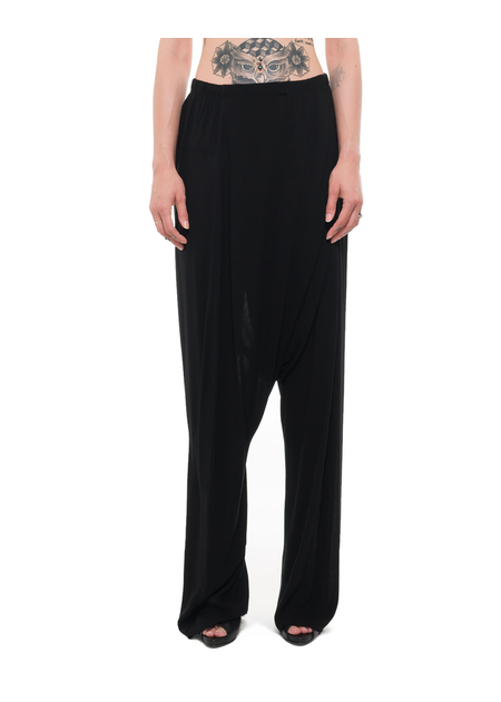 PAL OFFNER SUPER LOW DRAPE TROUSER