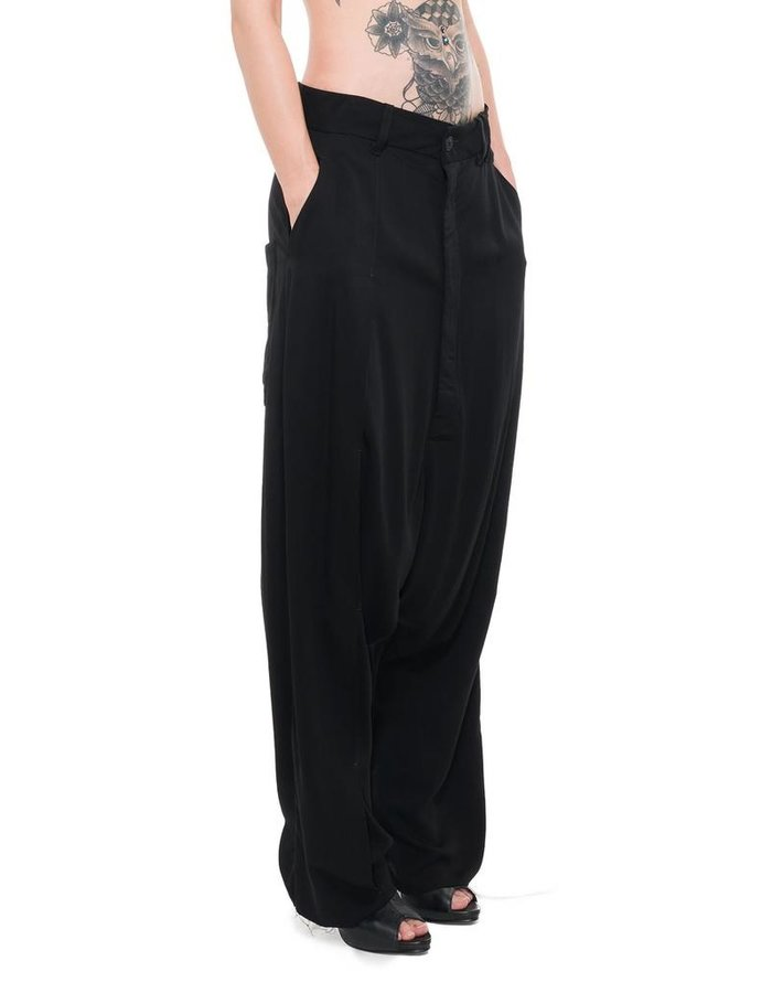 PAL OFFNER SUPER LOW STITCH TROUSERS