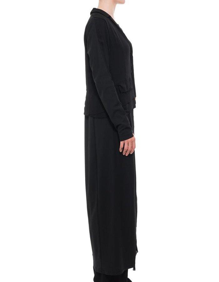 PAL OFFNER DECONSTRUCTED BUTTON UP DRESS