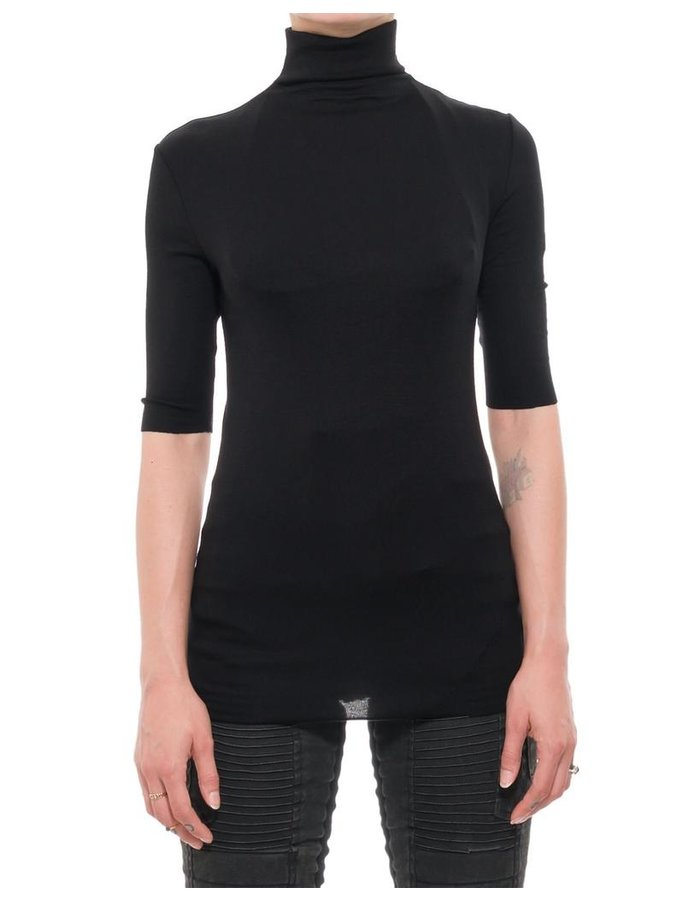 THOM KROM TK STRETCH HIGH NECK TEE