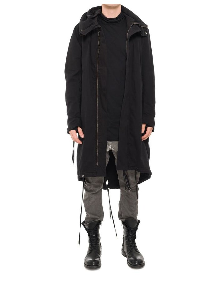 ARMY OF ME COTTON FISHTAIL PARKA COAT 08