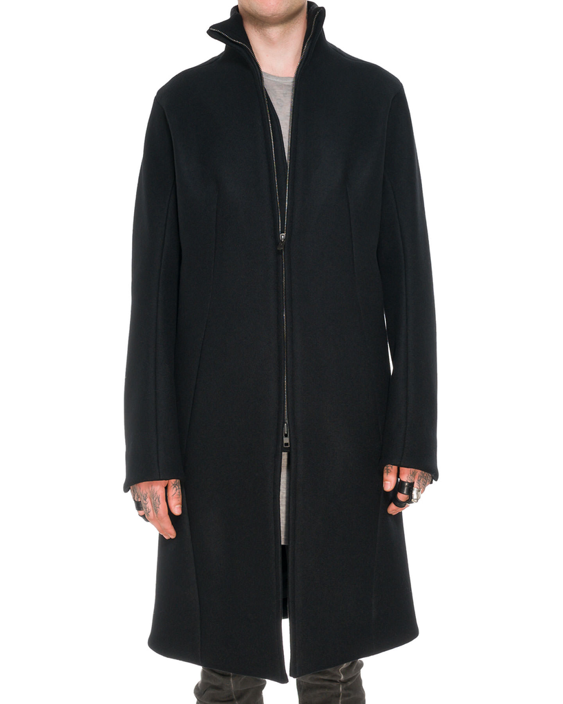 ANTWERP MELTON HIGH NECK COAT