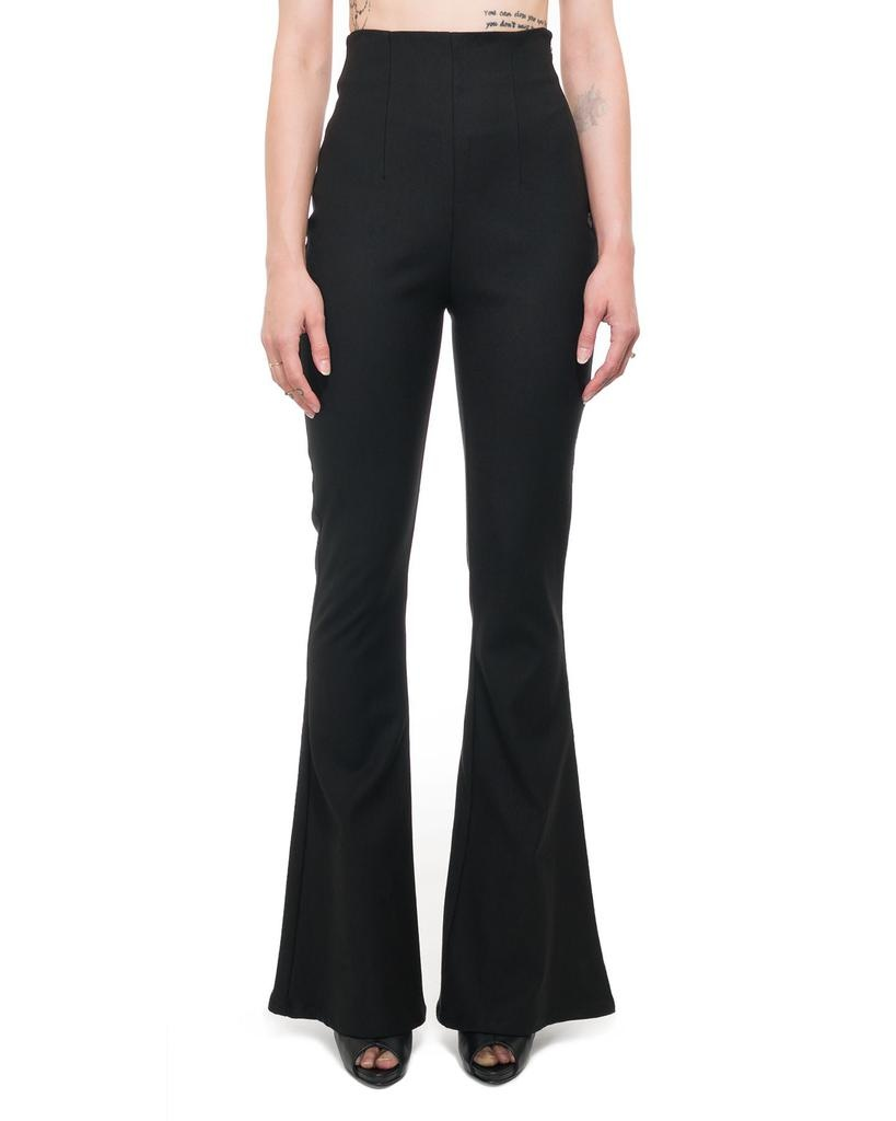 HIGH WAISTED STRETCH FLARE PANT