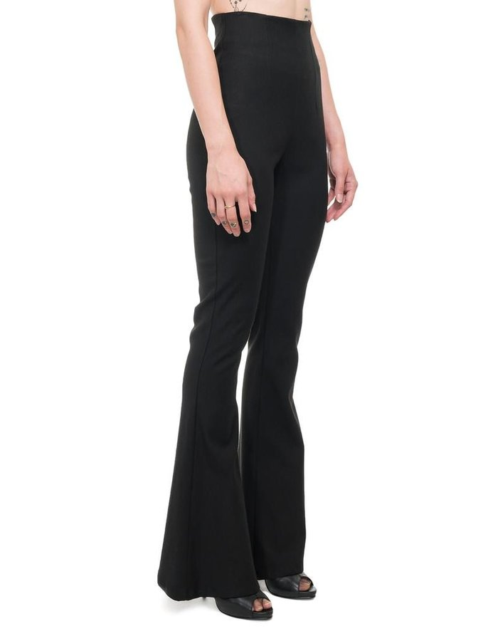 NOSTRA SANTISSIMA HIGH WAISTED STRETCH FLARE PANT
