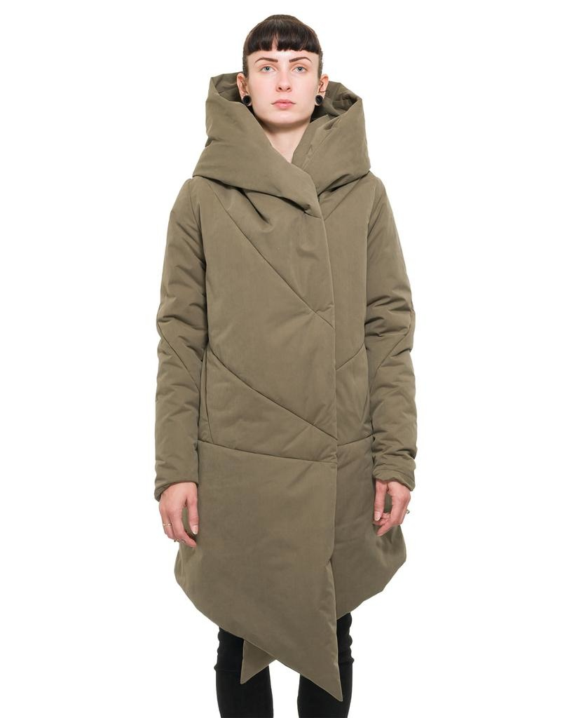 SHORT HOODED ZIP UP PARKA