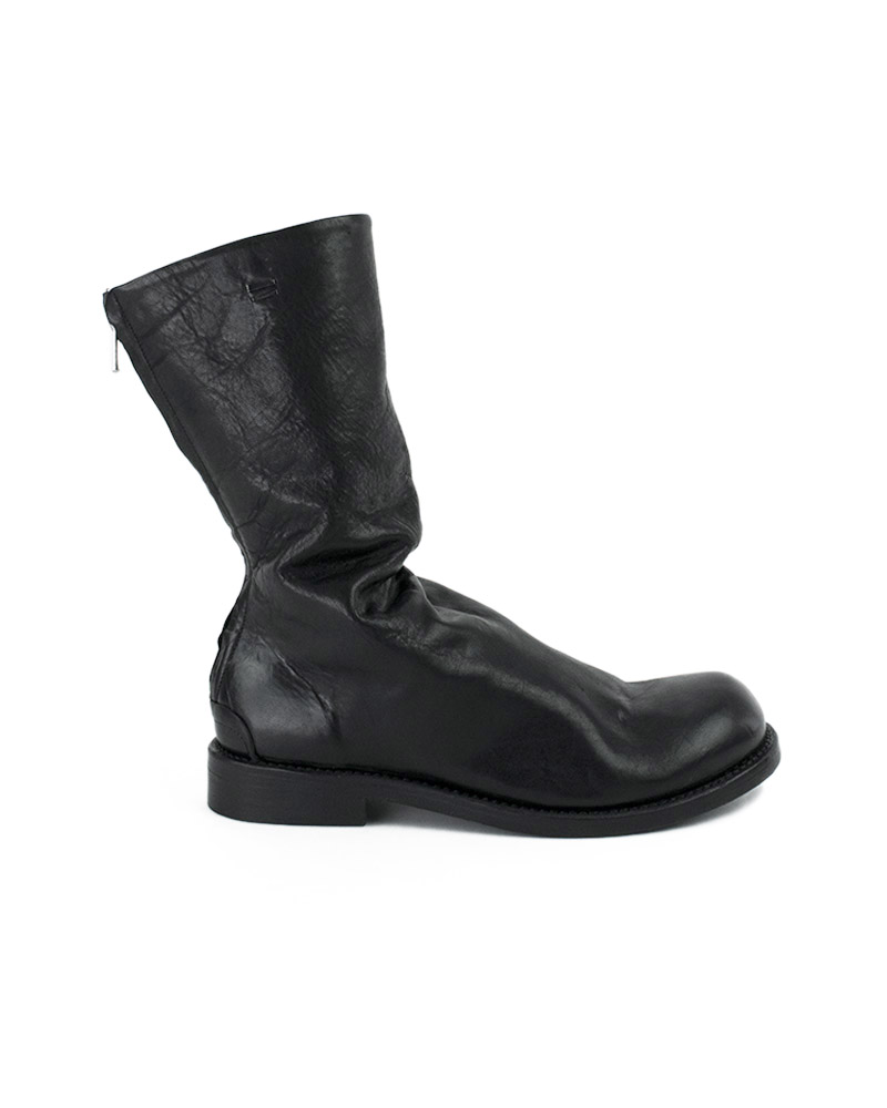 SKJOLD RE-WAXED BOOT WITH LEATHER SOLE