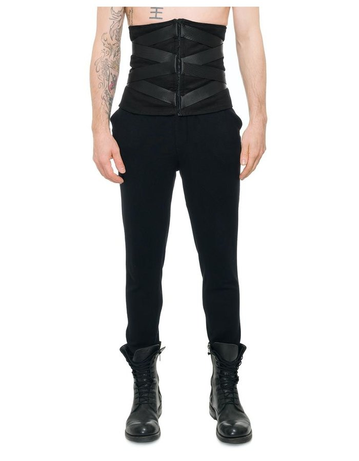 DAVID'S ROAD BANDED CORSET BELT