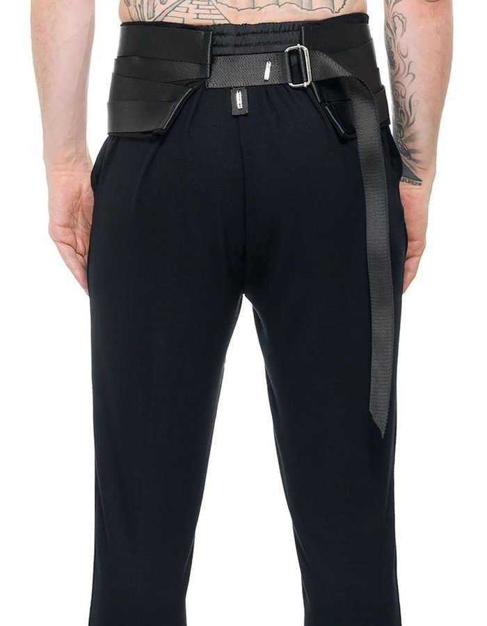 DAVID'S ROAD BANDED TUXEDO BELT