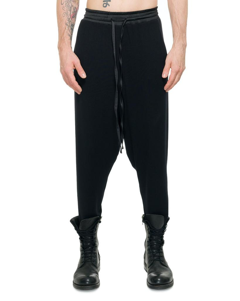 VISCOSE DROP CROTCH PANT