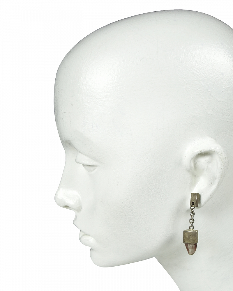 TALISMAN DANGLE EARRING (Topaz, DA+TOP)