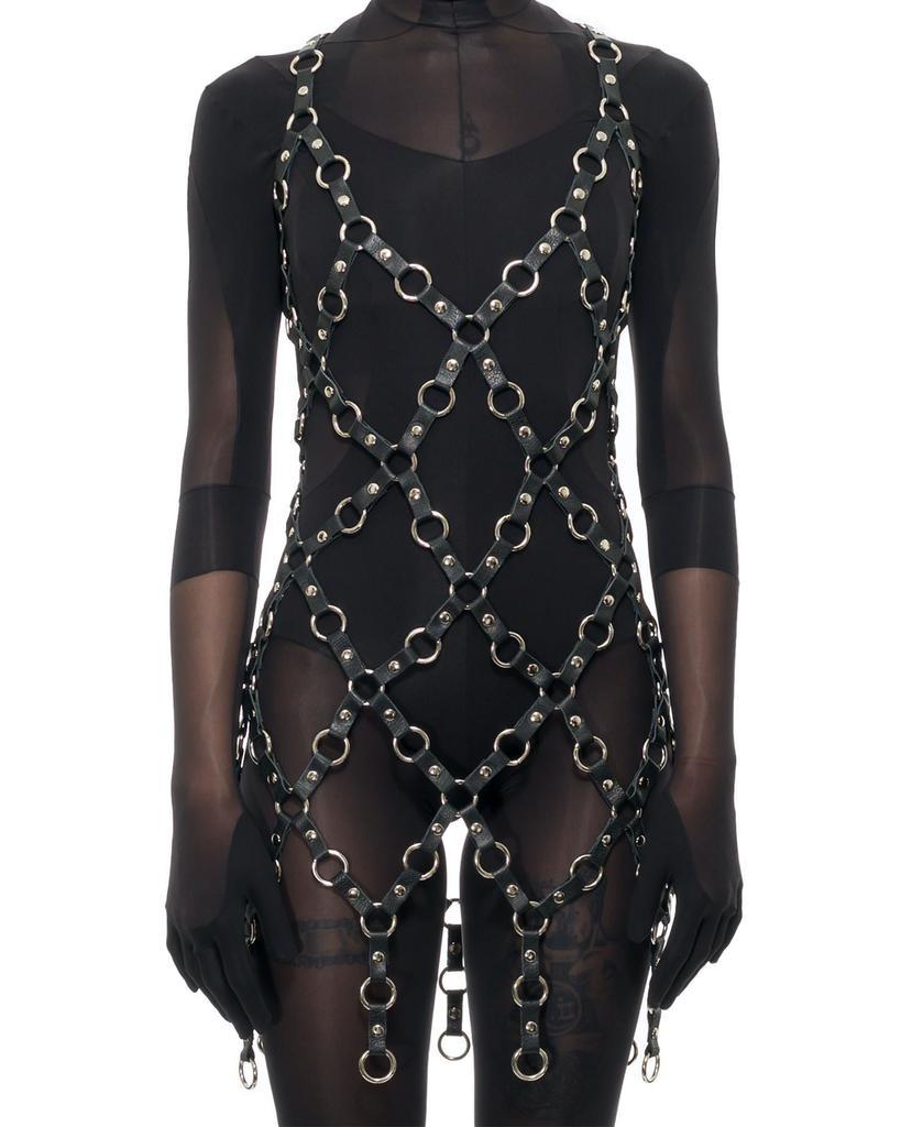 METAL RING DRESS