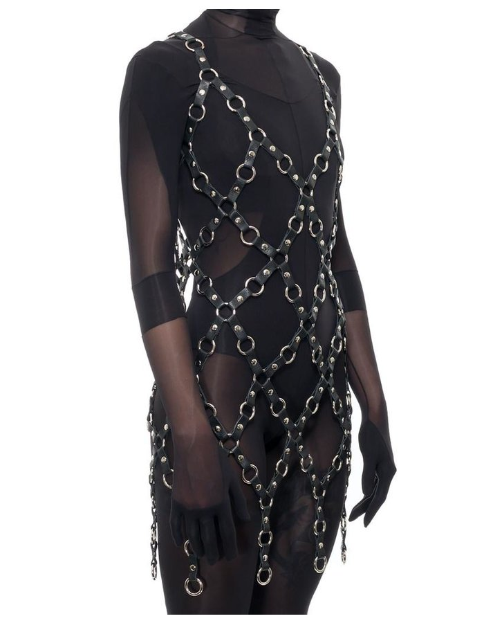 ZORA ROMANSKA METAL RING DRESS