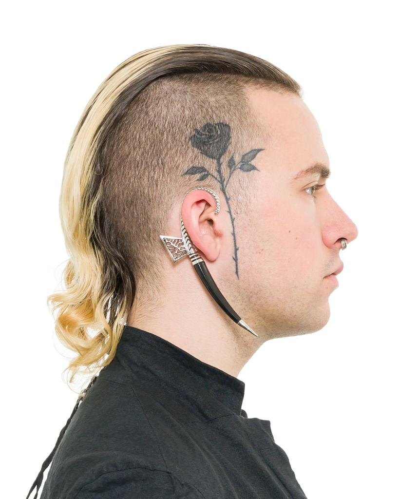 EARCLIP TUSK - RIGHT EAR