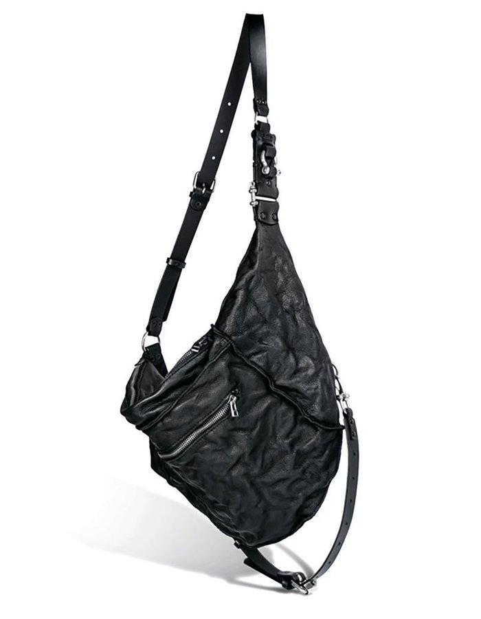 TEO + NG MITAE LEATHER SHOULDER BAG