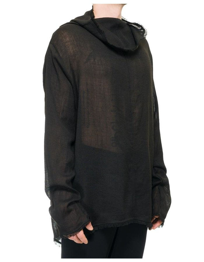 DAVID'S ROAD TRANSPARENT WOOL LONG SLEEVE