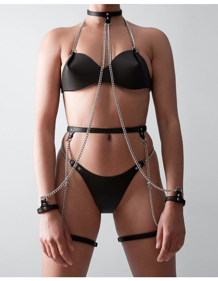 FLEET ILYA SLIM CHAIN SUSPENDER HARNESS