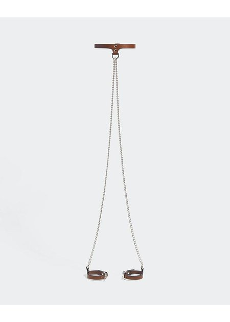 FLEET ILYA SLIM CHAIN COLLAR & CUFFS