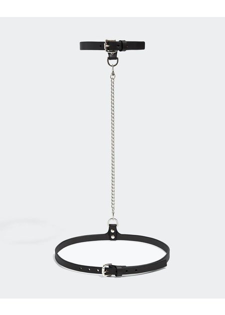 FLEET ILYA SLIM CHAIN COLLAR & BELT