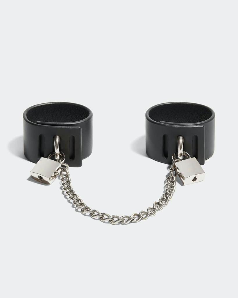 PADLOCK CUFFS WITH CHAIN