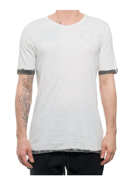 THOM KROM TEE WITH PAINTED EDGES