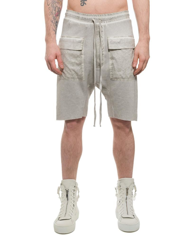 LOW CROTCH SHORT WITH PATCH POCKET