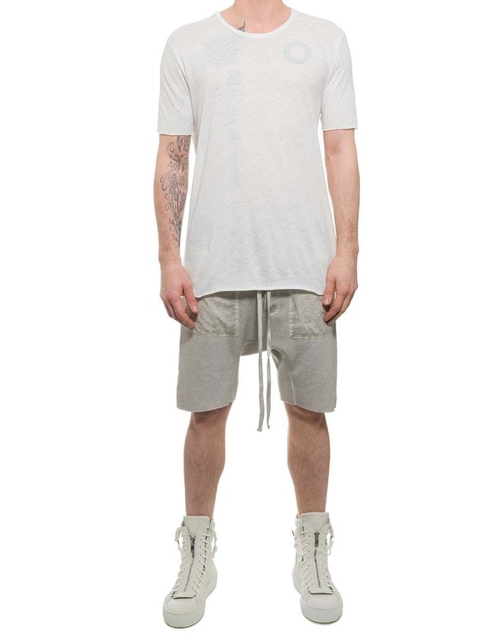 THOM KROM LOW CROTCH SHORT WITH PATCH POCKET