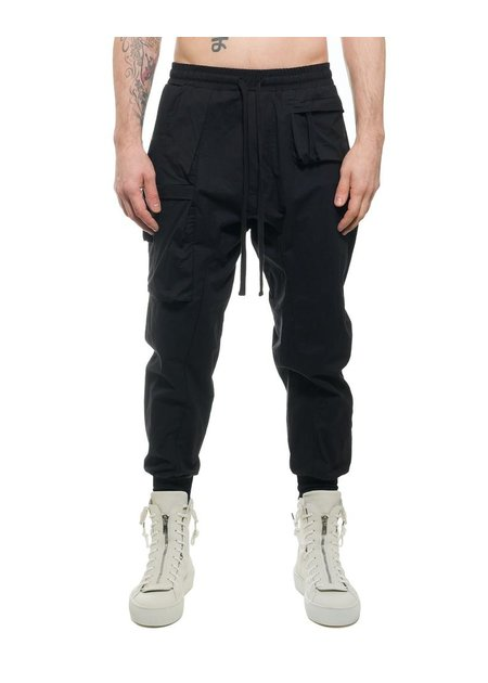 THOM KROM STRETCH COTTON MULTI-POCKET JOGGERS