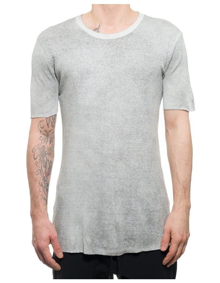THOM KROM TEE WITH BACK SEAM