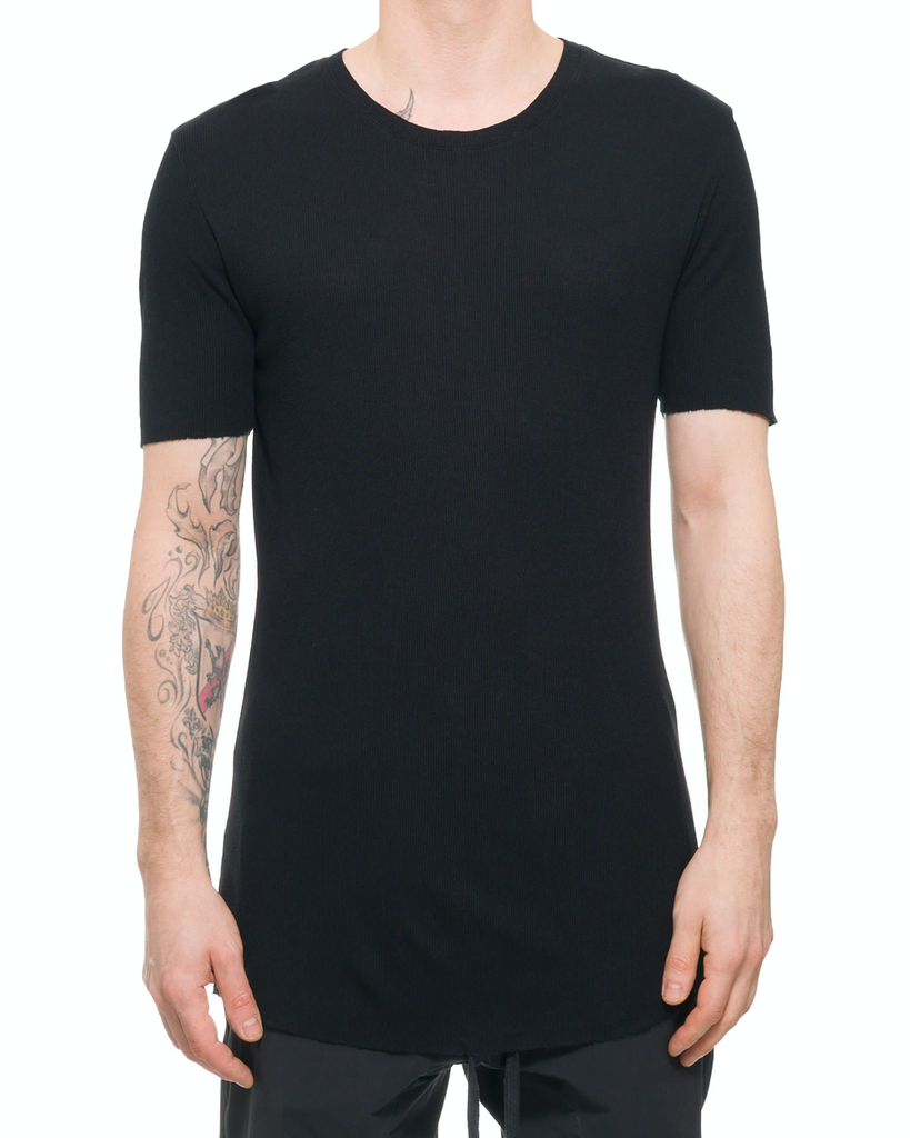 TEE WITH BACK SEAM