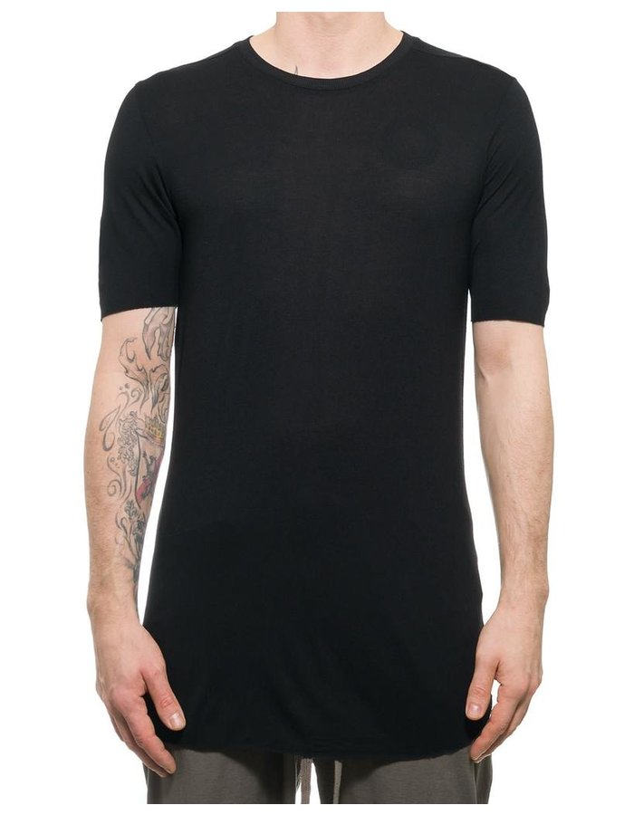 THOM KROM T-SHIRT IN VISCOSE & SILK