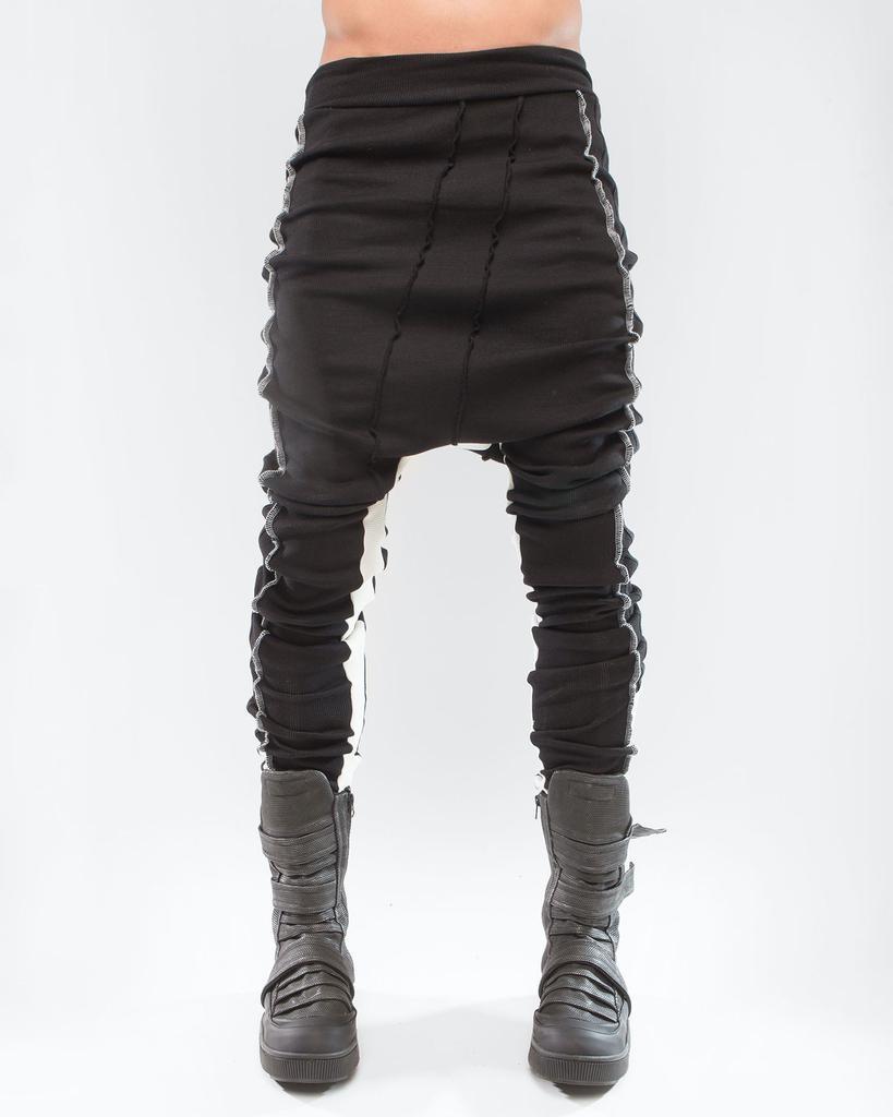 LEGGINGS RIB BLACK