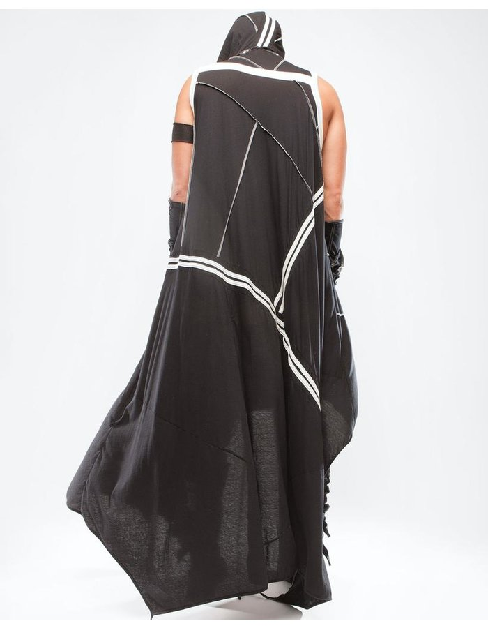 DEMOBAZA ROBE SAMSARA BLACK