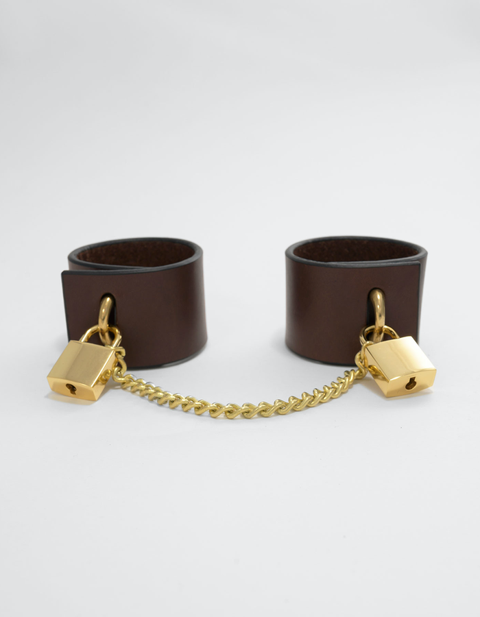 FLEET ILYA PADLOCK CUFFS WITH CHAIN