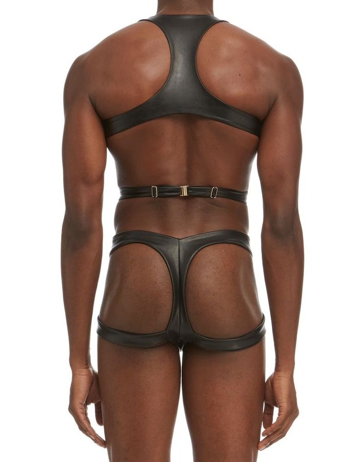 DSTM VEGAN LEATHER MAYA MEN HARNESS