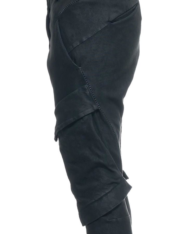 MASNADA RESINATED COMBAT PANTS