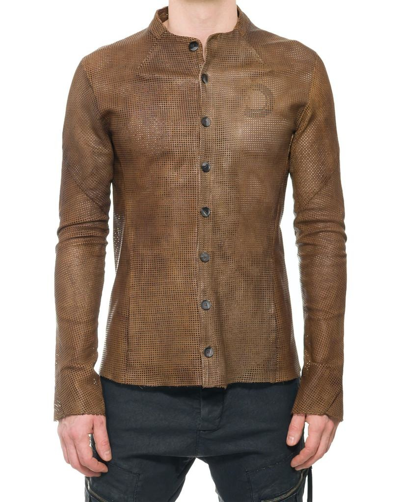 FAKIR LEATHER SHIRT