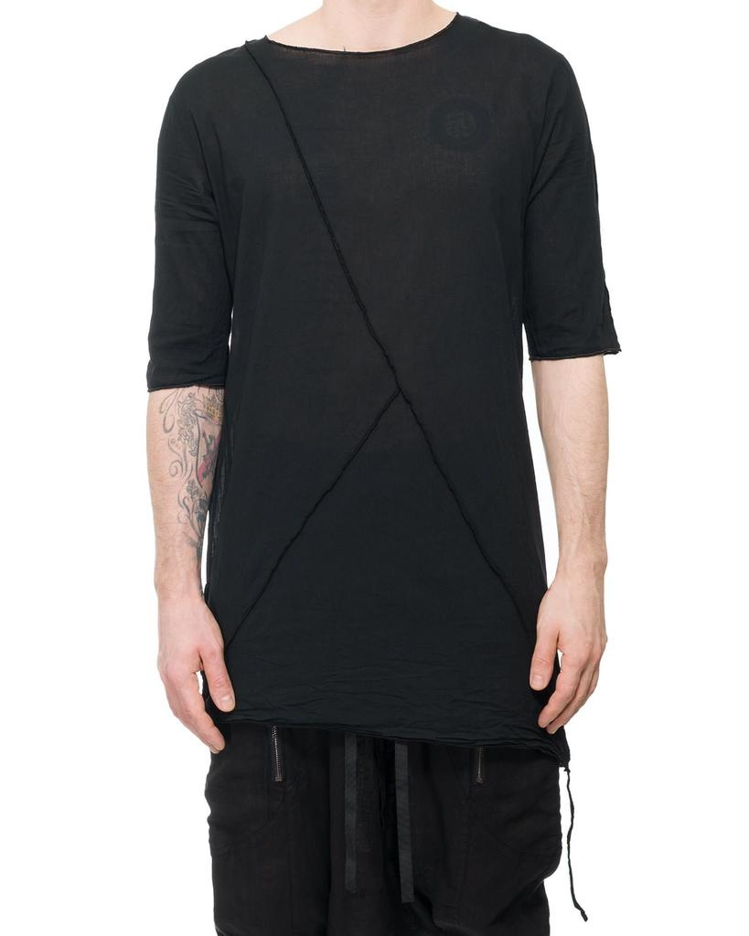 LONG SHIRT WITH BUTTONED SIDE